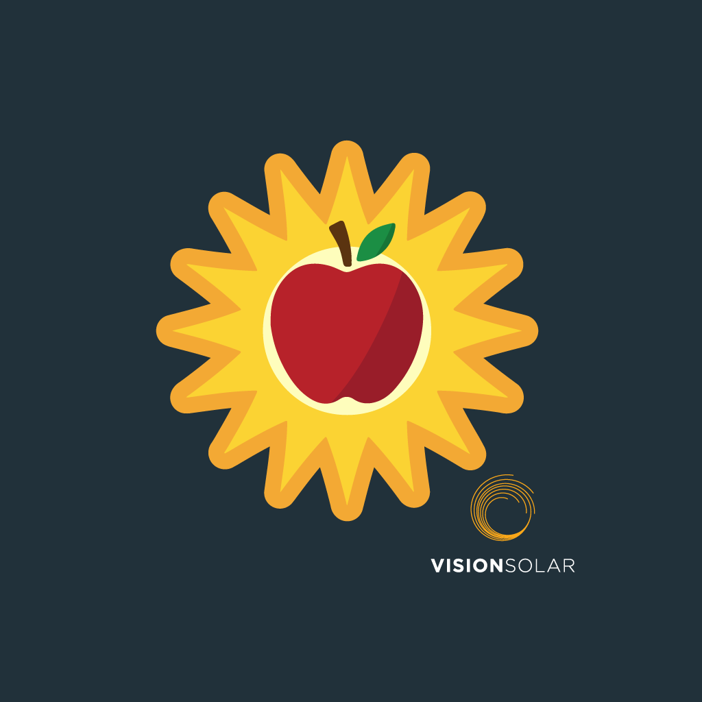 Vision Solar : Apple Switches to Solar
