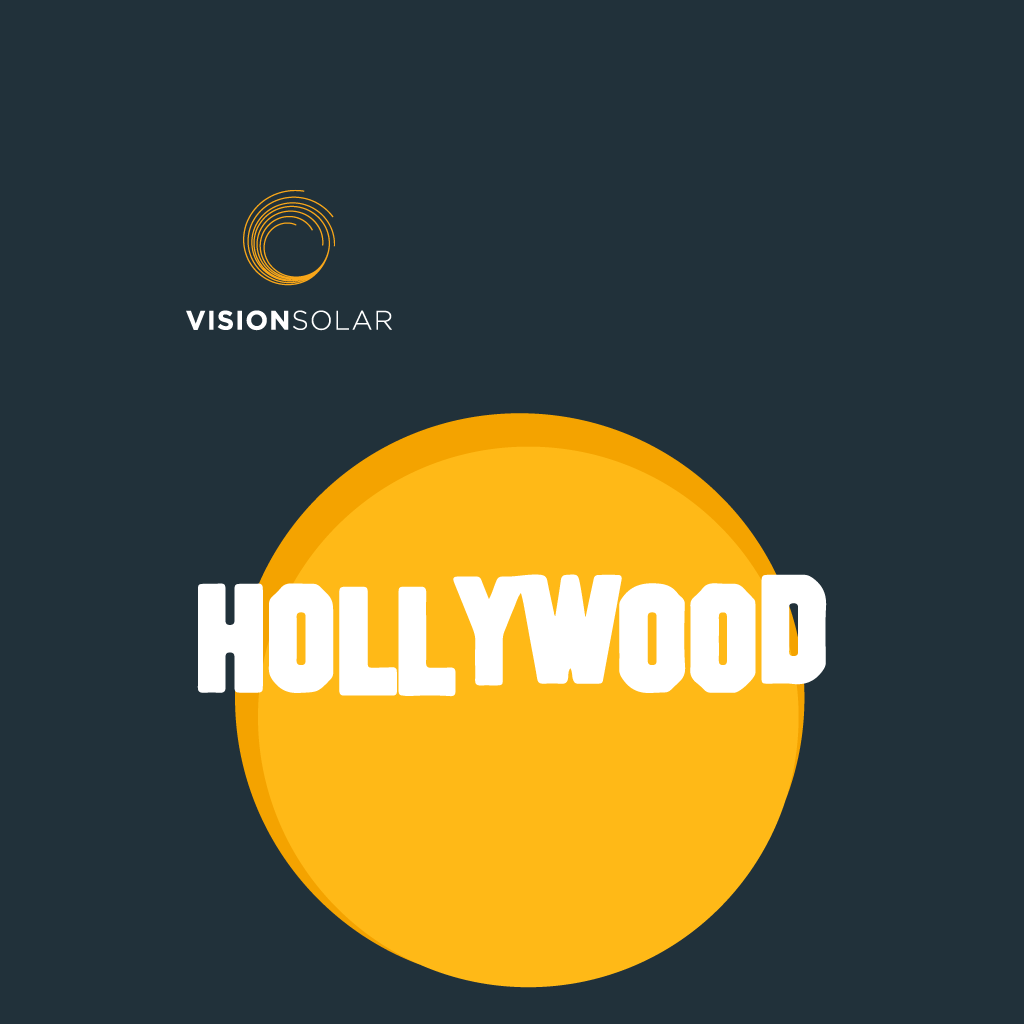 Vision Solar : Celebrities That Made The Switch to Solar in 2020