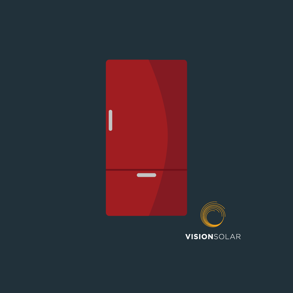 Vision Solar : How Much Energy Does My Refrigerator Use