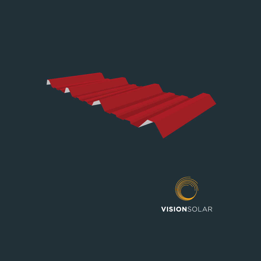 Vision Solar : Solar Panels on Your Metal Roof