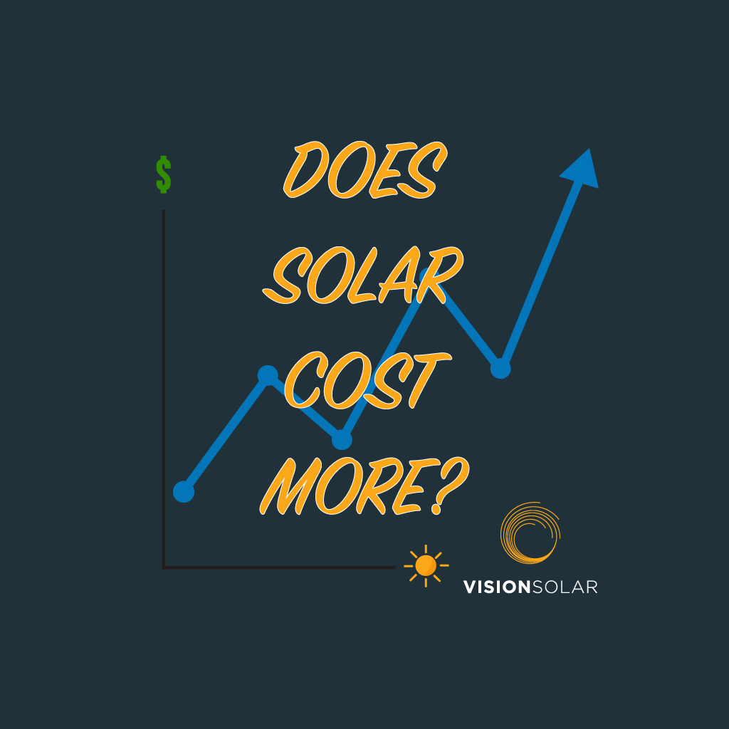 Vision Solar : Top 3 Myths About Solar