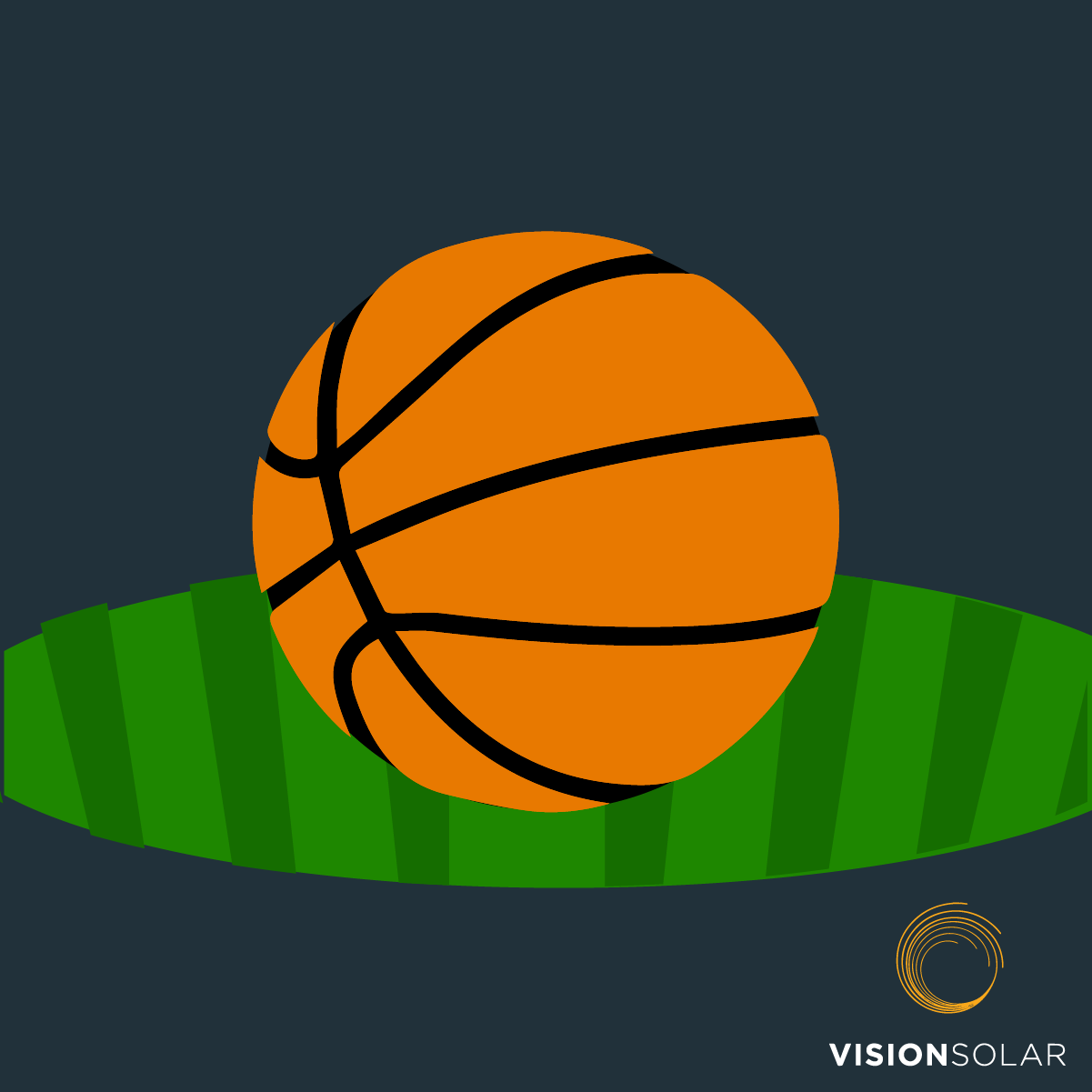 Vision Solar : Basketball Stadiums Powered By Solar