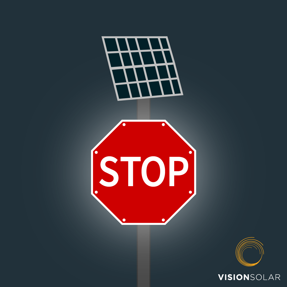 Vision Solar : Solar Powered Street Signs