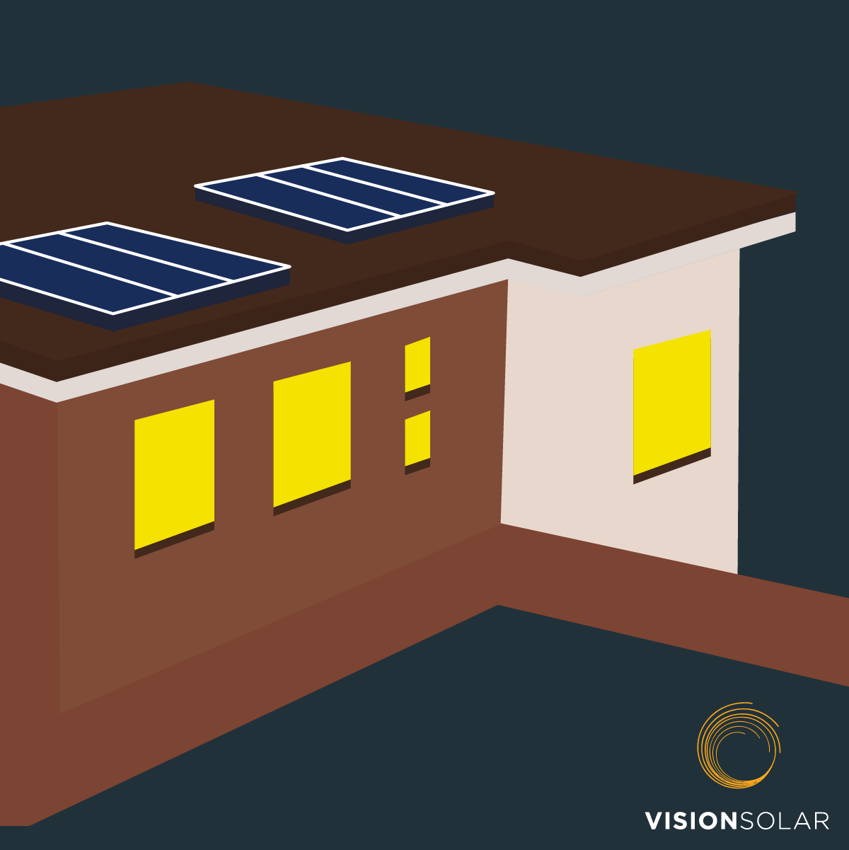 Vision Solar : Where Can I Put Solar Panels