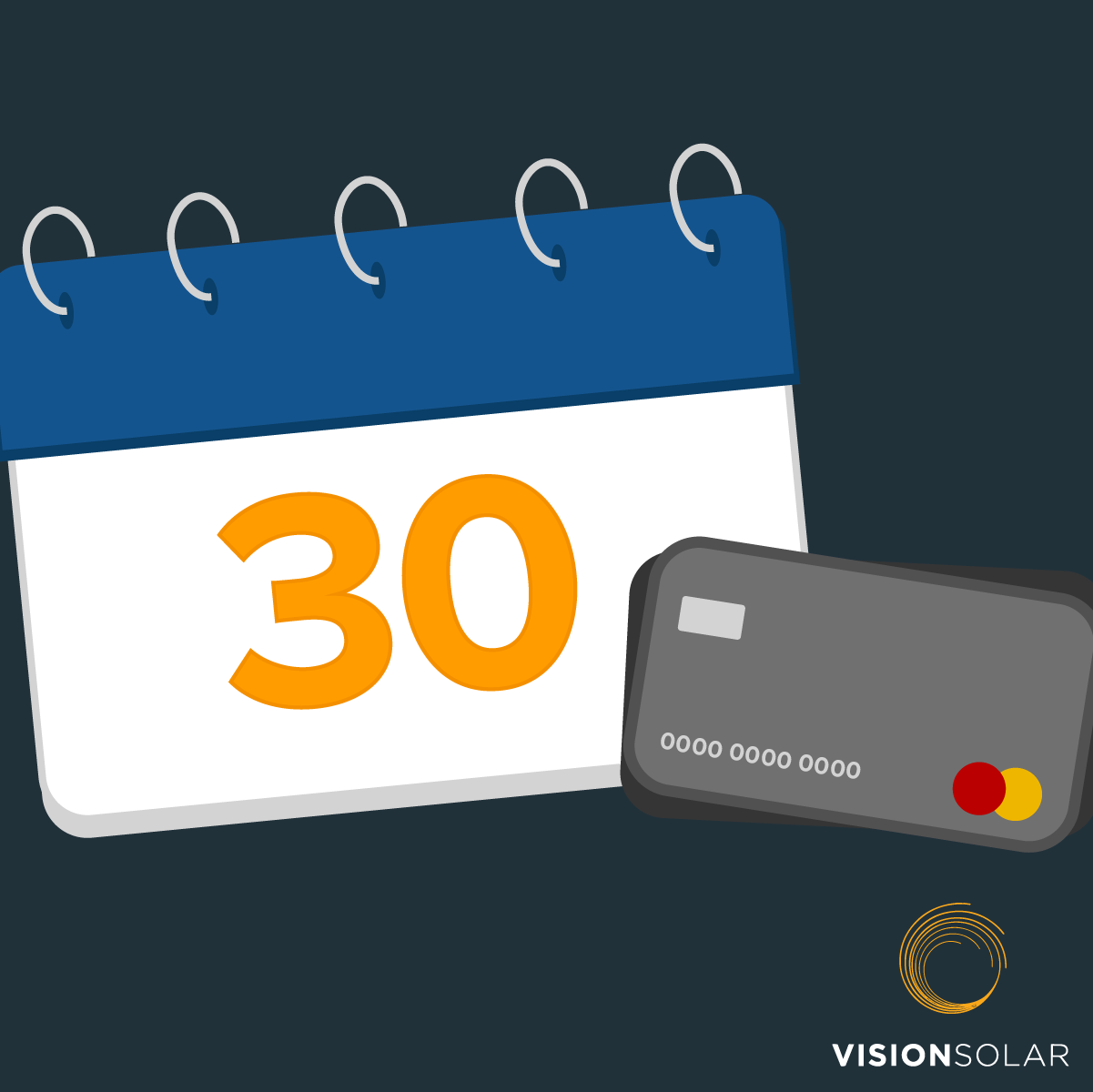 Vision Solar : Monthly Payment With Solar