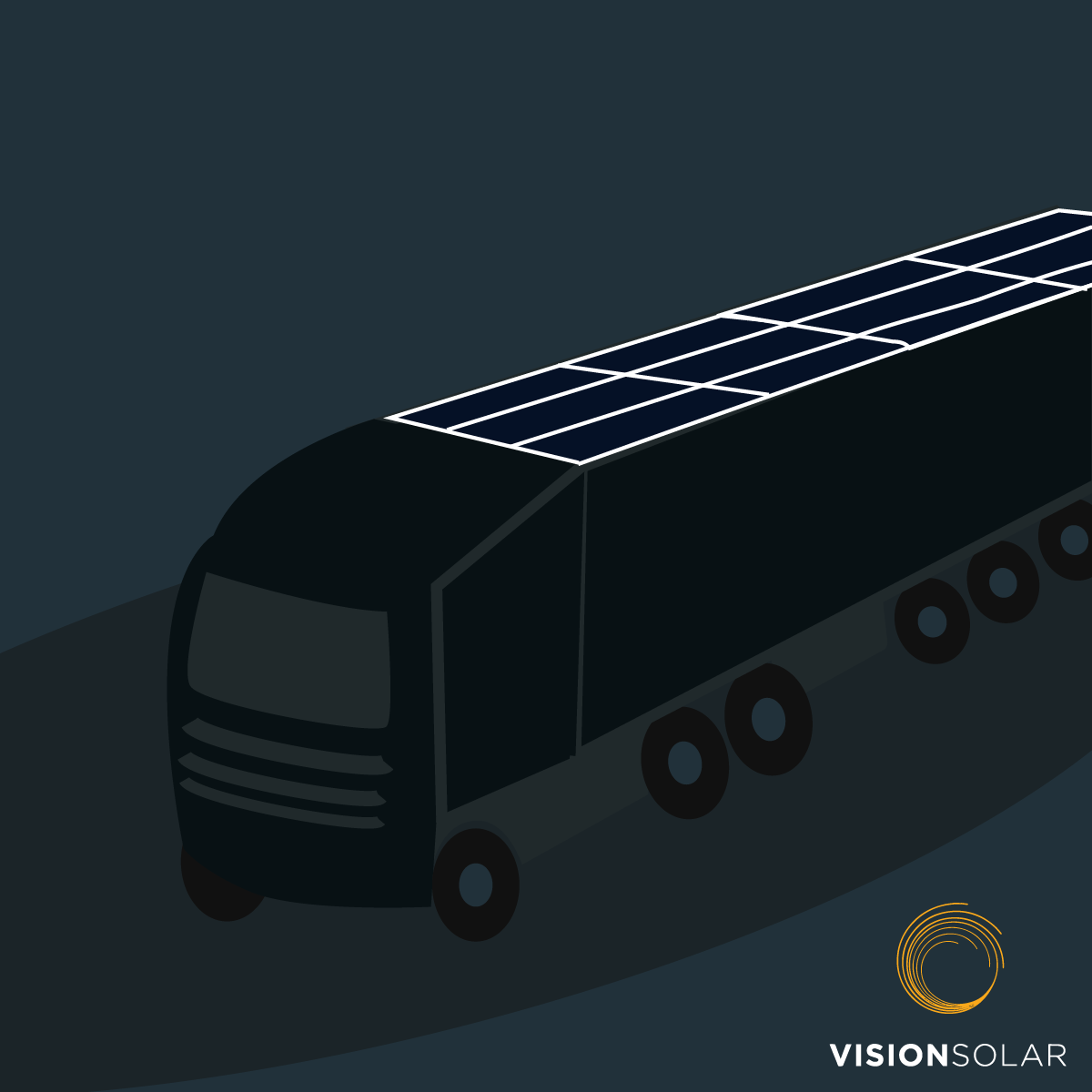 Vision Solar : Solar on Large Transportation