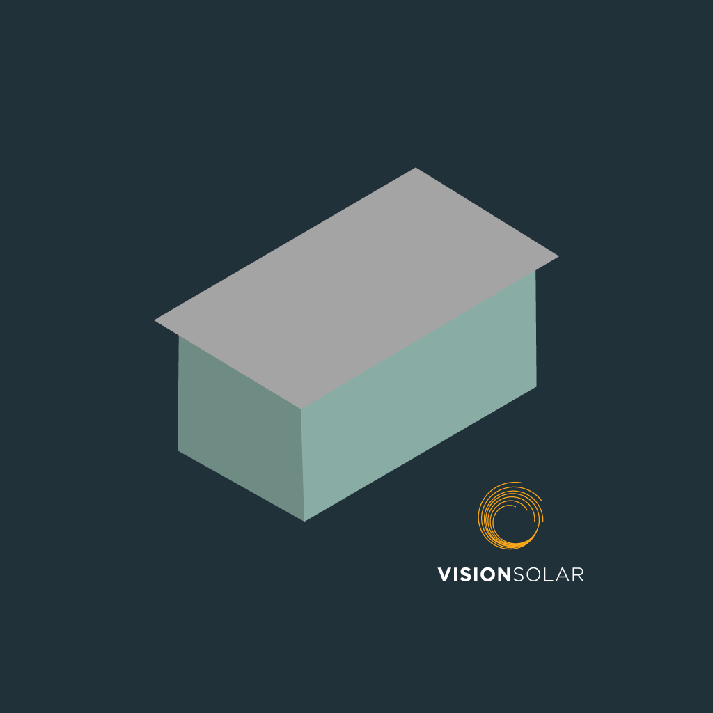 Vision Solar : Can Solar Panels Be Installed on a Flat Roof Cover