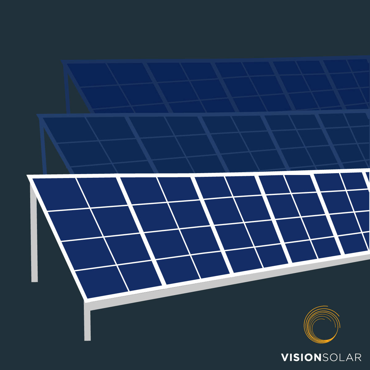 Vision Solar : Largest Solar Farms in the US