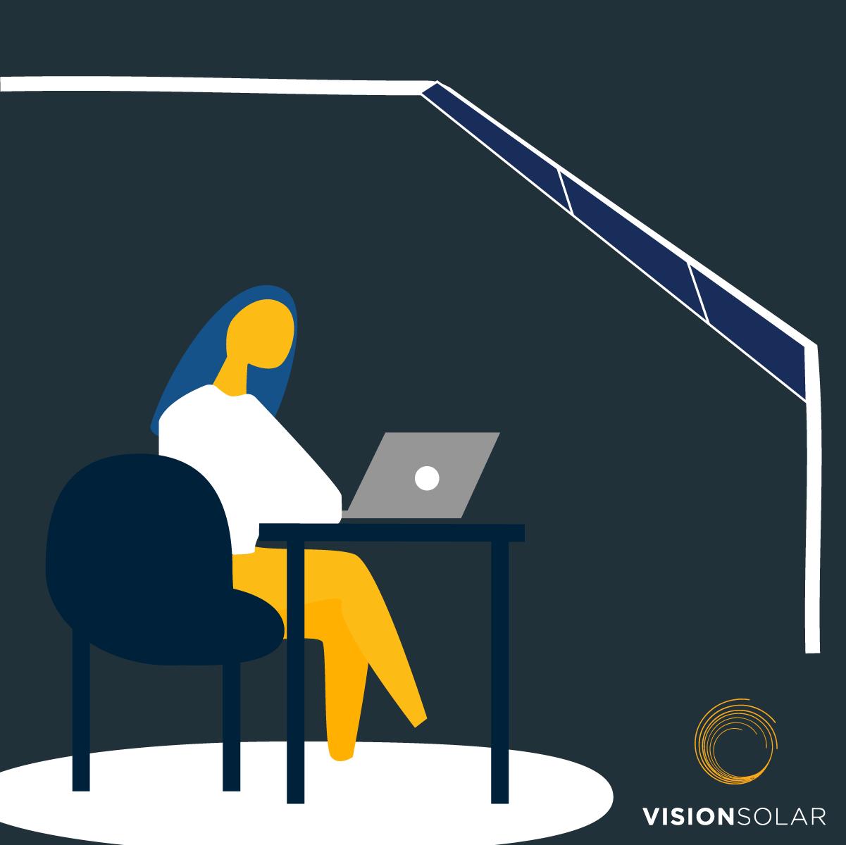 Going Solar as A Vision Solar Employee