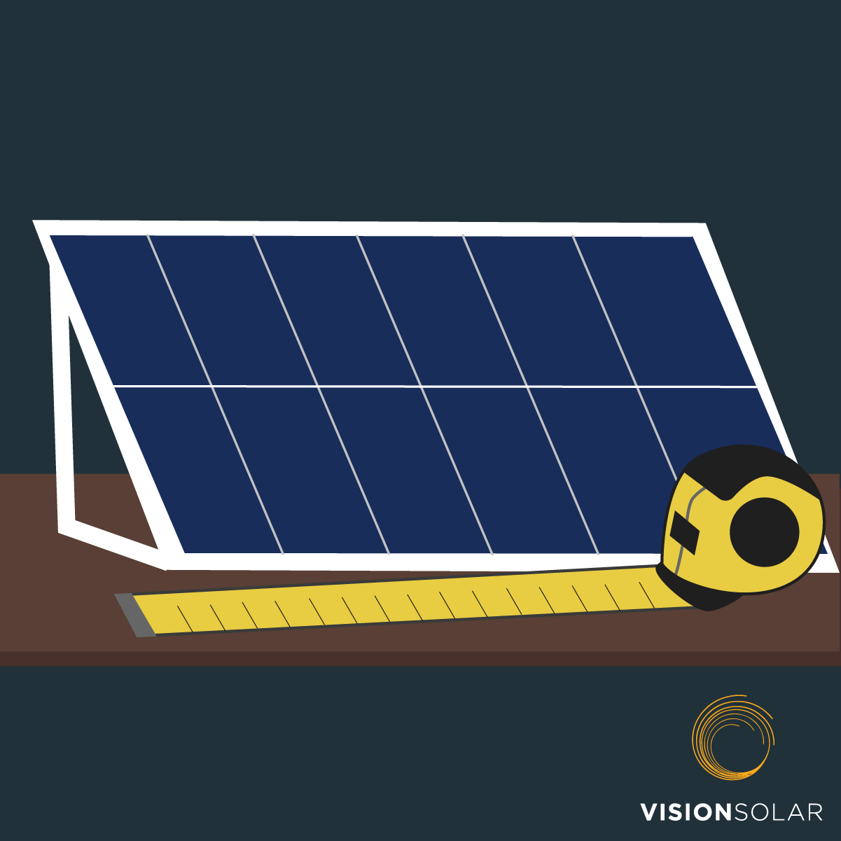 Vision Solar : How Big Is a Solar Panel