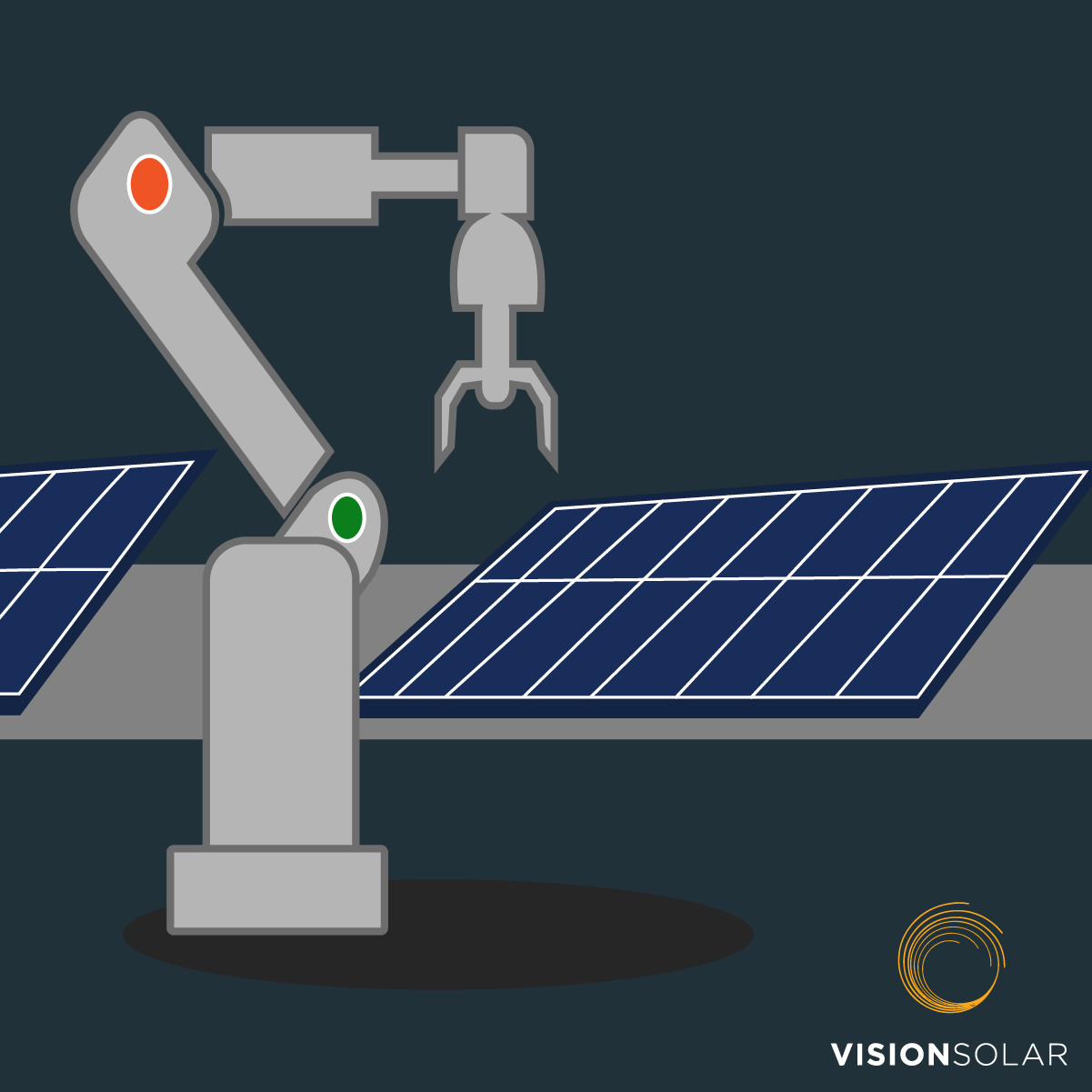 Vision Solar : Where Are Solar Panels Made