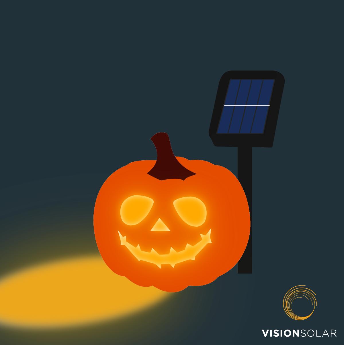 Vision Solar: Solar and Halloween